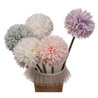 Artificial Silk Fake Flowers Romantic Floral Wedding Bouquet Hydrangea Decor