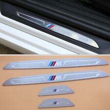 4pcs Door sill scuff plate trim For BMW F30 3 Series 2013- 2018