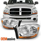 Fit 2006 2007 2008 Dodge Ram 1500 2500 3500 Replacement Headlights Left+Right  for sale