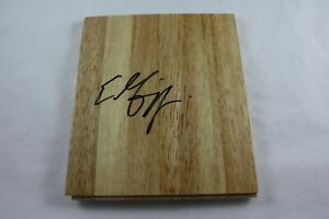 Eddie Griffin Signed 6x6 Floorboard Minnesota Timberwolves Authentic Autograph