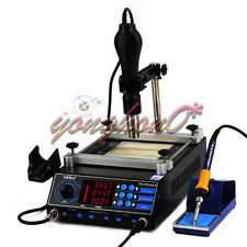 BGA SMD Preheating Oven Soldering Rework Station Hot Air Preheater 220V NEW