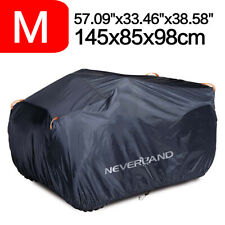 M Waterproof Quad Atv Cover Scooter Universal Storage All Weather Dust Protector (Fits: Bombardier)