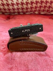 Vintage ALPEX Camera Accessory Viewfinder Rangefinder 0 to 50 feet Japan
