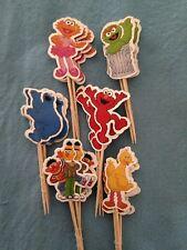 Cupcake Cake Toppers Sesame Street 24pcs