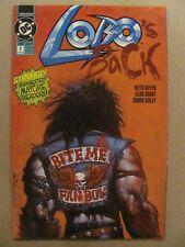Lobo's Back #1 #2 #3 #4 DC Comics 1992 Series 9.4 Near Mint