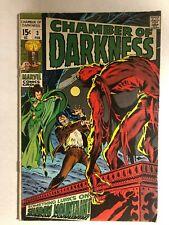 CHAMBER OF DARKNESS #3 (1970) Marvel Comics VG+