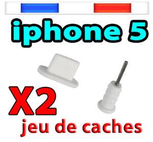 Cache poussière Bouchon Capuchon iPHONE 6S/ 6 SE 5 Mini ipad iPod Touch 5 Nano7