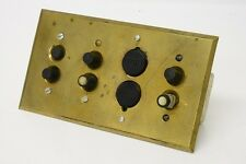 Antique 35mm movie projector brass wall switch plate Brooklyn NY Fox Theater