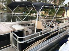 pontoon boat cruise ski fish