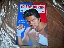 Yo Soy Duran: Mi Autobiografia by Roberto Duran 2016, Paperback Spanish Edition