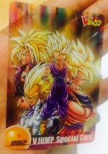 Carte dragon ball -  Morinaga Wafer Card DBZ N*82 Japan V jump special card