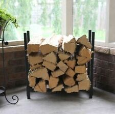 Woodhaven 2' Fireside Firewood Rack in Brown