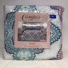 Candies 7 Piece Full Comforter Sheet Set Spring Field Shams Pillowcase Fitted