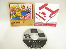 02 DONKEY KONG Game Sound Museum Famicom Version Audio CD Sound Track Japan