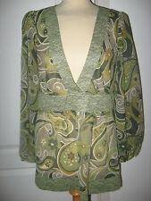 M&Co 3/4 Sleeve Regular Classic Tops & Shirts for Women