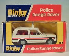 Dinky Toys 254 Police Range Rover Polizei OVP #3825