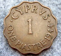 CYPRUS GEORGE VI 1944 1 PIASTRE