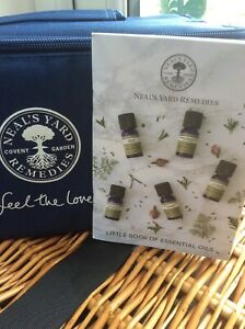 Neal's Yard Remedies Little Book Of Essential Oils Pocket Book Guide Informative