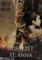 miraklet VID St. Anna DVD película REGIÓN 2 CAJA METÁLICA Miracle at St. UE Pack