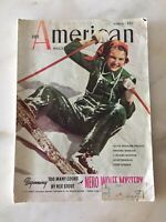Vintage American Magazine March 1938 Crafting Projects History Applique
