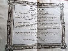 98-5 Atlas portatif comportant les XXII cartes environs de Paris - Desnos 1763