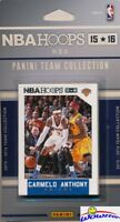 15/16 Panini Hoops New York Knicks Factory Sealed Team Set-Kristaps Porzingis RC
