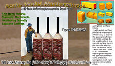 TALL BRICK CHIMNEY FACTORY/INDUSTRY/BLACKSMITH-Scale Model Masterpieces nfc72