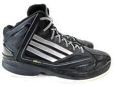 ADIDAS Adizero Ghost 2 High Top Basketball Shoes Mens Size 10.5 Black White