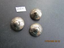 Ø ca 6 silberfarb //147 guter Zstd 18mm Knöpfe // Trachtenknöpfe aus Metall