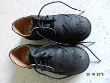 Little Boy'S Florsheim Brogue Leather Dress Shoes-Size 12 M-Black