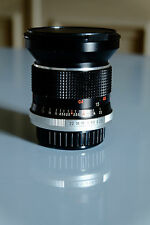 Objectif vintage 28 mm grand angle pour reflex pentax