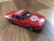 Vintage Corgi Juniors Jaguar XJ-S Supercat Motor Show 82 Diecast Car Red 1980s.