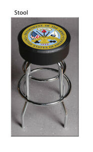 United States Department of the Army Bar Stool Stools