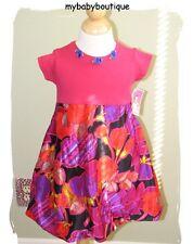 NWT~mybabyboutique.com Retro Bubble Dress~Girls Boutique Size 12-24 Months