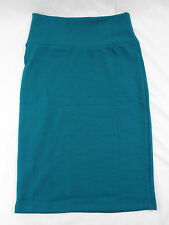Womens LuLaRoe Cassie Skirt XS Dark Green Blue Spruce   NWT