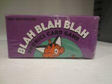 Blah Blah Blah Card Game by Wordsmith (2020, Book, Other)