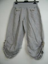 Pantaloni da donna di lino taglia 44