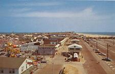 Ocean City MD * South End of Boardwalk  ca 1970 * Amusement Rides