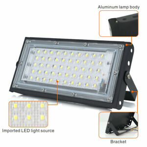 50W Garden LED Floodlight Spotlight Flood Light Outdoor Street Lamp Waterproof
