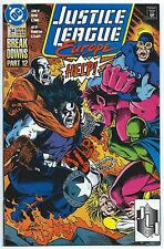 JUSTICE LEAGUE EUROPE #34 Jan 1992 DC Comics NM+ 9.6 W LOBO DESPERO App