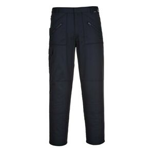 Portwest Action Workwear Trousers S887 Navy Black Grey Green Various Sizes NEW!