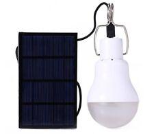 15W Solar Powered Portable Led Bulb Lamp Energy led lighting panel light Camping