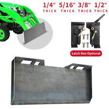 14 516 38 12 Skid Steer Loader Mount Plate Bucket Quick Tach Attachment