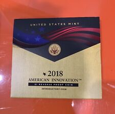 2018 S American Innovation Introductory $1 Reverse Proof Coin