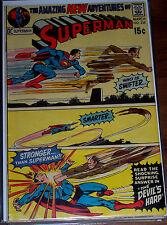"SUPERMAN #235 VF/NM ""The Devils Harp!"" Nice High Grade Bronze-Age Comic! 1971 DC"