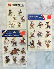 86d688bb343a 1984 Los Angeles Summer Games Sam The Olympic Eagle Sticker Lot