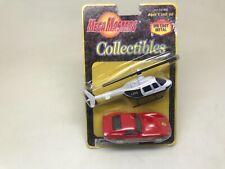 MAISTO-MEGA MASTERS COLLECTIBLES DIECAST-FERRARI 250 GTO,HELICOPTER-SERIES 1