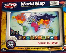 Scientific Touch Pad Interactive Learning Fun World Map Interactive Learning