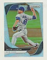 2020 Panini Prizm SILVER REFRACTOR PRIZM #35 JACOB deGROM New York Mets