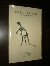 COLLECTORS' GUIDE - N°3 Fossil collecting (Palaeontology)